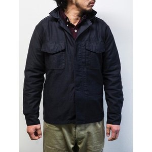 WORKERS(ワーカーズ)〜Fatigue Shirt Black〜|route66amboy|01