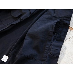 WORKERS(ワーカーズ)〜Fatigue Shirt Black〜|route66amboy|09