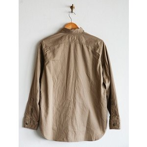 WORKERS(ワーカーズ)〜Metal Button Work Shirts Beige〜|route66amboy|05