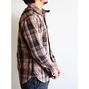 DELUXEWARE(デラックスウェア)〜HV-31 WEST MIX CHECK SHIRTS〜|route66amboy|02