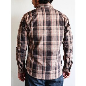 DELUXEWARE(デラックスウェア)〜HV-31 WEST MIX CHECK SHIRTS〜|route66amboy|03