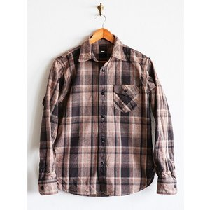 DELUXEWARE(デラックスウェア)〜HV-31 WEST MIX CHECK SHIRTS〜|route66amboy|04