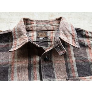 DELUXEWARE(デラックスウェア)〜HV-31 WEST MIX CHECK SHIRTS〜|route66amboy|06