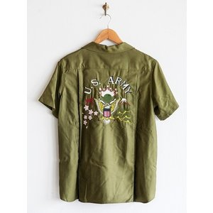 Varde77(バルデセブンティセブン)〜THE SPECIAL ARMY BOWLING SHIRTS OV〜|route66amboy