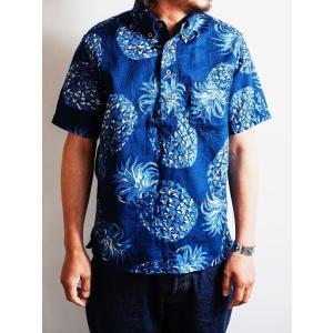 JELADO(ジェラード)〜Pullover B.D. Aloha Shirts Navy〜|route66amboy