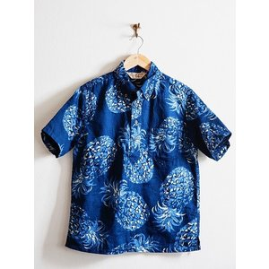 JELADO(ジェラード)〜Pullover B.D. Aloha Shirts Navy〜|route66amboy|04