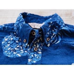 JELADO(ジェラード)〜Pullover B.D. Aloha Shirts Navy〜|route66amboy|06