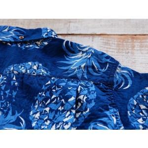 JELADO(ジェラード)〜Pullover B.D. Aloha Shirts Navy〜|route66amboy|07