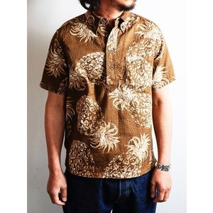 JELADO(ジェラード)〜Pullover B.D. Aloha Shirts Caramel〜|route66amboy