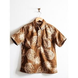 JELADO(ジェラード)〜Pullover B.D. Aloha Shirts Caramel〜|route66amboy|04