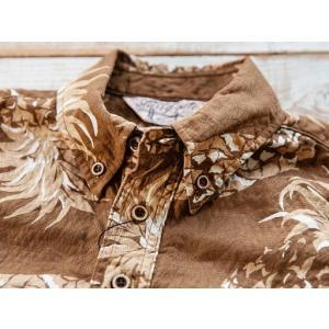 JELADO(ジェラード)〜Pullover B.D. Aloha Shirts Caramel〜|route66amboy|06