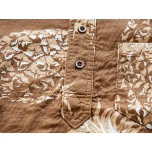 JELADO(ジェラード)〜Pullover B.D. Aloha Shirts Caramel〜|route66amboy|08