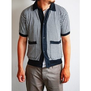 MATTSONS'(マットソンズ)〜GINGAHAM CHECK S/S CARDIGAN〜|route66amboy