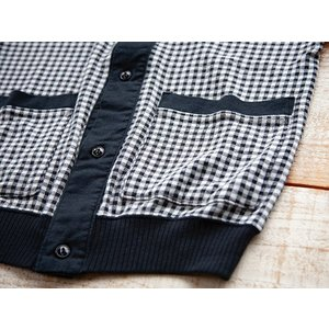 MATTSONS'(マットソンズ)〜GINGAHAM CHECK S/S CARDIGAN〜|route66amboy|09