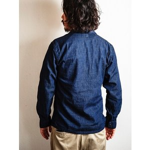 WORKERS(ワーカーズ)〜Fatigue Shirt Mod Denim〜|route66amboy|03
