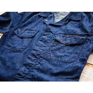WORKERS(ワーカーズ)〜Fatigue Shirt Mod Denim〜|route66amboy|07