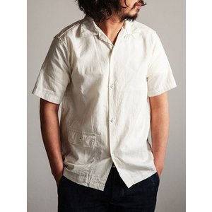 ORKERS(ワーカーズ)〜Open Coller Shirt Ivory〜 route66amboy