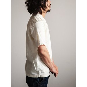 ORKERS(ワーカーズ)〜Open Coller Shirt Ivory〜 route66amboy 02