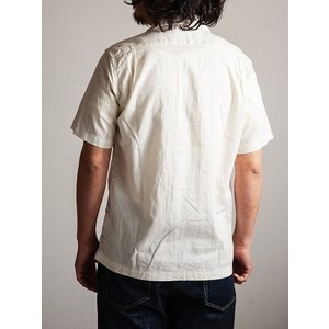 ORKERS(ワーカーズ)〜Open Coller Shirt Ivory〜 route66amboy 03
