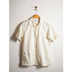 ORKERS(ワーカーズ)〜Open Coller Shirt Ivory〜 route66amboy 04