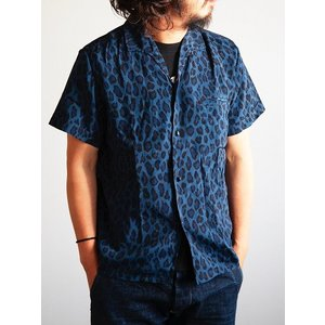 JELADO(ジェラード)〜Vincent Shirts Leopard Navy〜|route66amboy