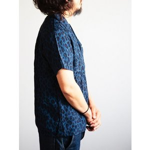 JELADO(ジェラード)〜Vincent Shirts Leopard Navy〜|route66amboy|02
