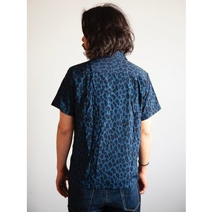 JELADO(ジェラード)〜Vincent Shirts Leopard Navy〜|route66amboy|03