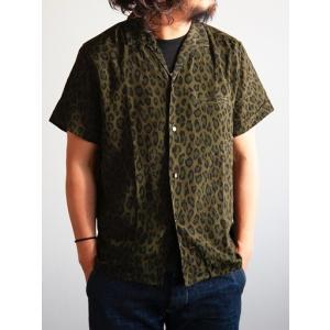 JELADO(ジェラード)〜Vincent Shirts Leopard Olive〜|route66amboy