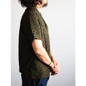 JELADO(ジェラード)〜Vincent Shirts Leopard Olive〜|route66amboy|02