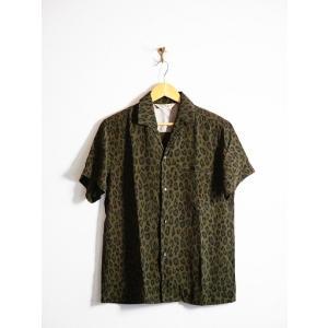 JELADO(ジェラード)〜Vincent Shirts Leopard Olive〜|route66amboy|04