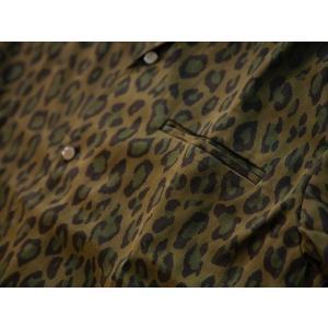 JELADO(ジェラード)〜Vincent Shirts Leopard Olive〜|route66amboy|08