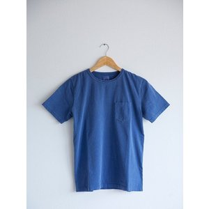 YEALOW(イエロー)〜PIGMENT POCKET TEE NAVY〜|route66amboy