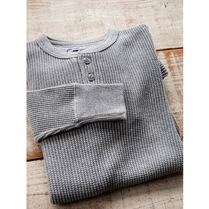 JELADO(ジェラード)〜MEGA THERMAL HENLEY NECK SALT PEPPER〜|route66amboy