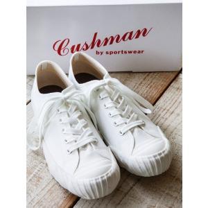 CUSHMAN(クッシュマン)〜WWII LOW CUT SNEAKER WHITE〜|route66amboy