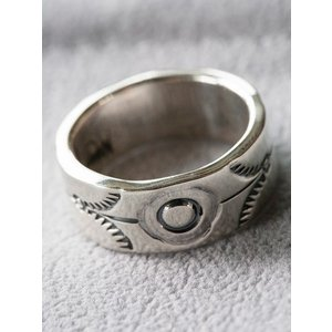 NORTH WORKS(ノースワークス)〜900Silver Stamp Ring W-022〜|route66amboy