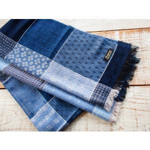 Dapper's(ダッパーズ)〜Process & Quilt Pattern Woolen Scarf QUILT〜|route66amboy|02