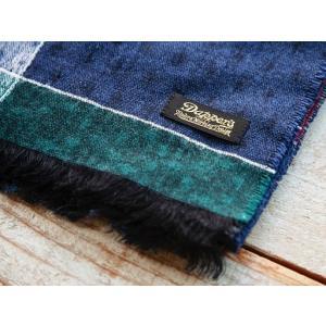 Dapper's(ダッパーズ)〜Process & Quilt Pattern Woolen Scarf QUILT〜|route66amboy|05