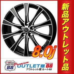 サマータイヤホイール4本SET アウトレット特別価格 235/50R18 モンツァ ワーウィック カロッツァ ブラックカットコート|route88-s