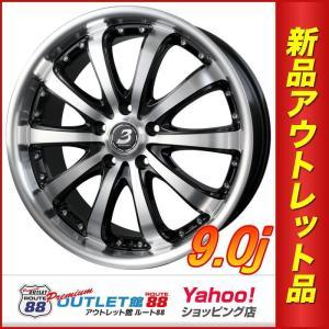 サマータイヤホイール4本SET アウトレット特別価格 245/45R20 BADX ロクサーニ EX バイロンスティンガー ブラックポリッシュ|route88-s