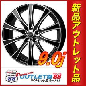 サマータイヤホイール4本SET アウトレット特別価格 225/35R19 モンツァ ワーウィック カロッツァ ブラックカットコート|route88-s