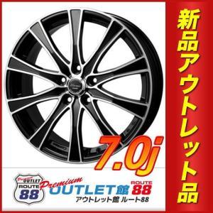 サマータイヤホイール4本SET アウトレット特別価格 225/40R18 モンツァ ワーウィック カロッツァ ブラックカットコート|route88-s