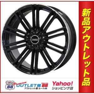 サマータイヤホイール4本SET アウトレット特別価格 245/45R20 DWM DW757 グロスブラック/リムエッジポリッシュ|route88-s