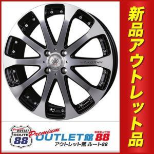 サマータイヤホイール4本SET アウトレット特別価格 165/35R17 BADX ロクサーニ VX オクトデック TS10 ブラック/ミラーブライトポリッシュ|route88-s