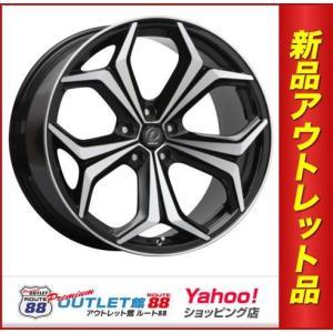サマータイヤホイール4本SET アウトレット特別価格 225/45R18 ヴァレスト WS-7 ブラックポリッシュ|route88-s