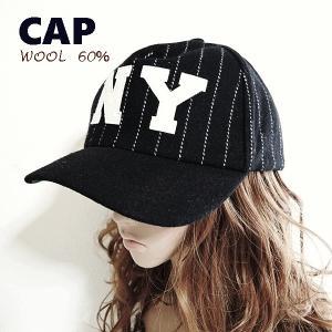 キャップ 帽子 野球帽 ベースボールキャップ ストライプ ウール 毛 カジュアル帽子 ユニセックス 男女兼用 スナップバック 送料無料|rovel