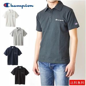 チャンピオン ポロシャツ 即出荷 半袖 ワンポイントロゴ Champion Polo Shirt C3-P306 送料無料 CHAMPION レディース メンズ ユニセックス 半袖 綿100% rovel