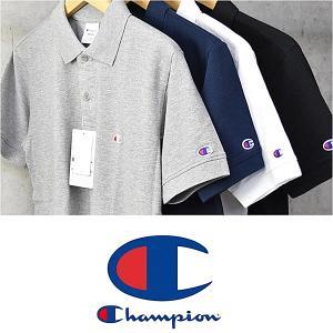 チャンピオン Champion C3-F356 ポロシャツ 半袖 メンズ レディース 父の日 プレゼント 半袖Tシャツ  鹿の子 送料無料 rovel