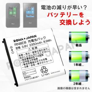 USB マルチ充電器 と NEC Aterm MR03LN MR04LN 用 AL1-003988-001 互換 バッテリー 日本市場向け  【ロワジャパン】|rowa|02