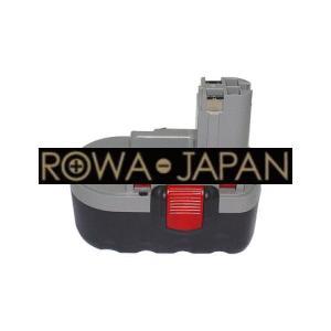 ●BOSCH 13618.1644.3453.53518.GDR 18 VのBAT026対応バッテリー|rowa