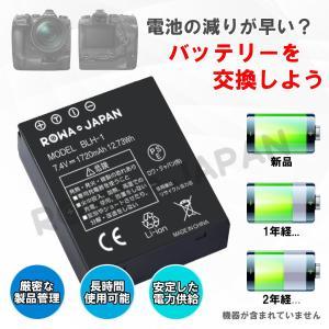 OLYMPUS オリンパス BLH-1 互換バッテリー 1個 + BCH-1 BCH1 PS-BCH1 互換 USB充電器 セット【ロワジャパンPSEマーク付】|rowa|02
